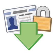 Download Facebook Content and Information