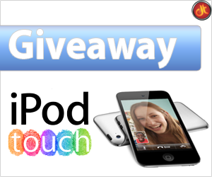 iPod Touch 4G Giveaway at DailyTUT.com