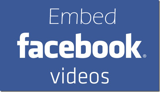 How to embed facebook video