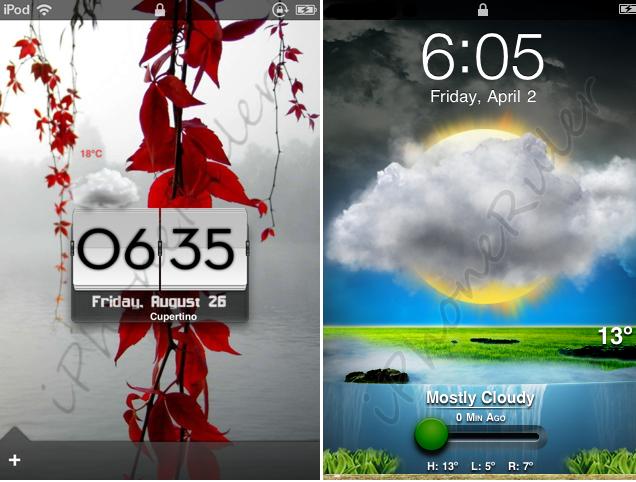 Lock Screen Customize Iphone Customized Lock Screens