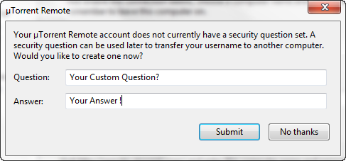security question utorrent prevent Multilogin