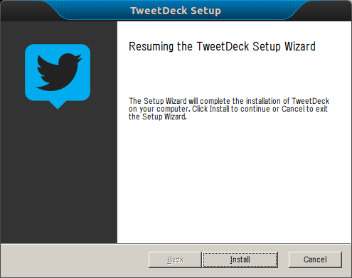 install TweetDeck Ubuntu latest version