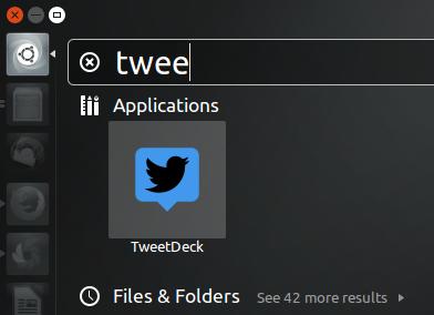 Ubuntu tweeetdeck