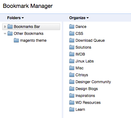 Bookmark_Manager_imported_different_account
