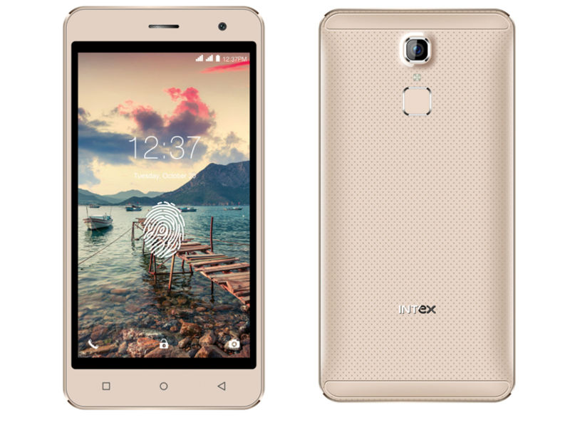 Intex Cloud Scan FP Launches Cheapest Smartphone with Fingerprint Sensor