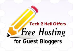 Free Hosting for Guest Bloggers