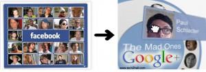 Facebook to Google plus