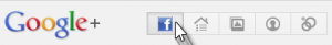 Facebook Icon in Google plus