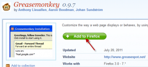 Grease Monkey addon