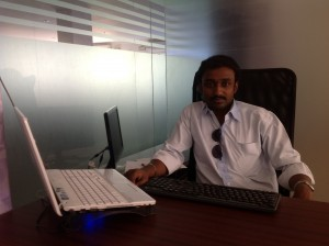 Vincent Raja @ Tech2hell Office