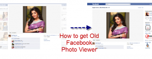 Old Facebook Photo Viewer