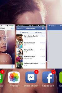 iOS7 App Close