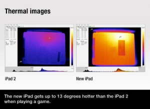 iPad2 Vs The New ipad Thermal Image