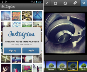 screenshot android instagram