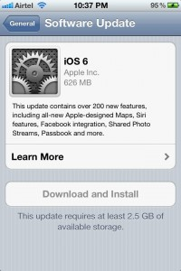 iOS 6 OTA