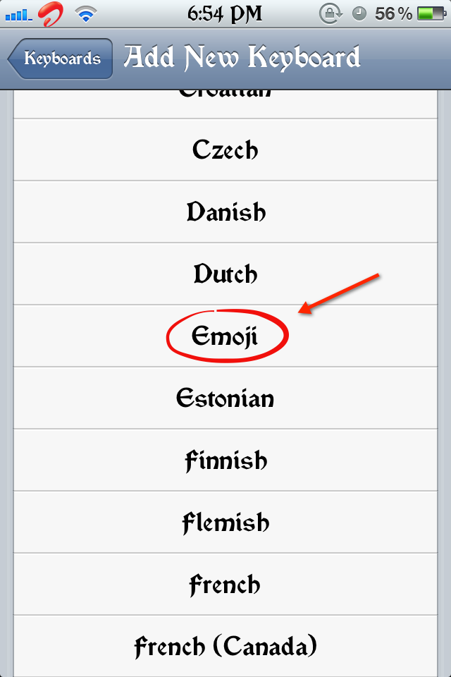 How to Enable Emotions in iPhone and all iDevices