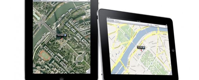 Google Maps on iOS 6