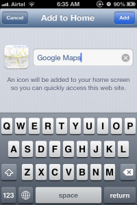 Google Maps iOS 6 Step 3