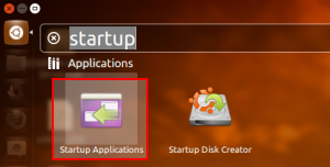 ubuntu startup application