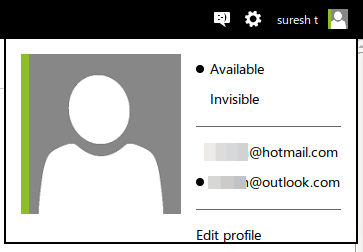 hotmail and Outlook.