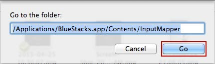 Bluestack Contact  on MAC