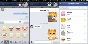 Facebook Emotions Stickers