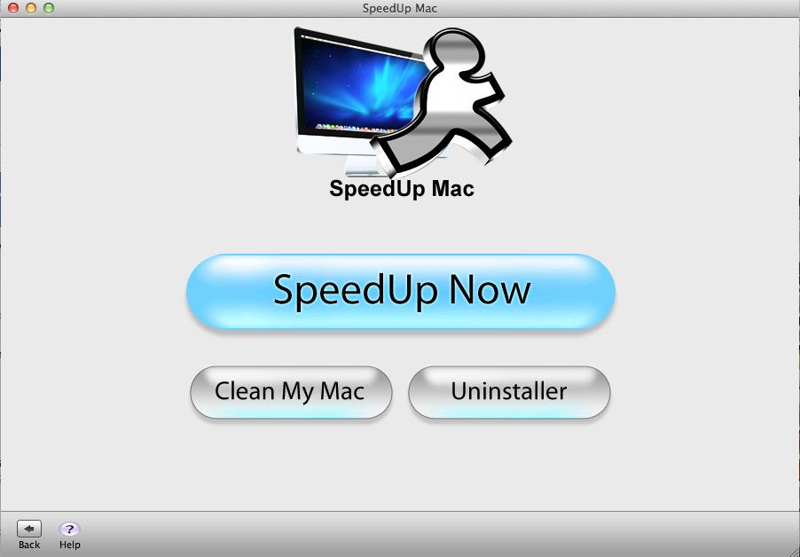 Menu for speedup mac