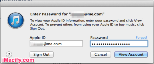 Apple ID Signin