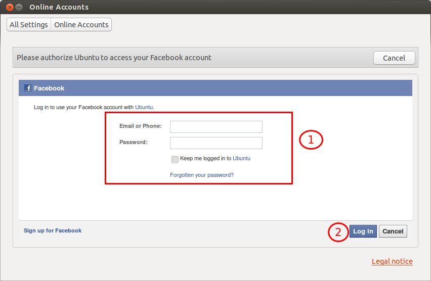 Facebook Online Account