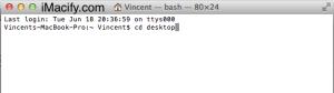 Terminal Desktop