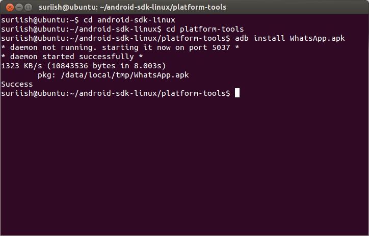 How to run Android Apps On Ubuntu