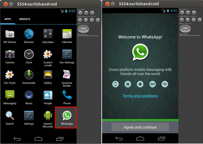whatsapp on ubuntu
