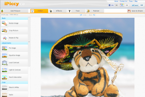 ipccy photo editing tool
