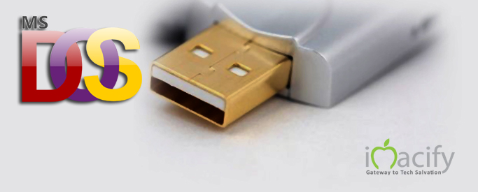 How To Make MS DOS Bootable Pendrive / Flash Drive