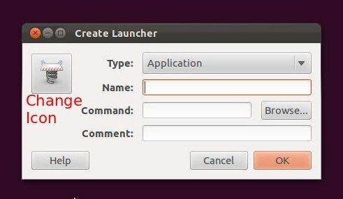 ubuntu create desktop shortcut