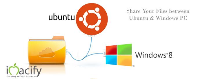 sharing files betweeen Ubuntu windows