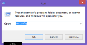 msconfig windows 8