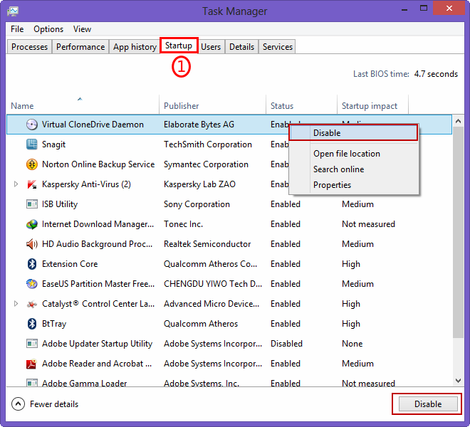 Taskmanager windows 8 expand