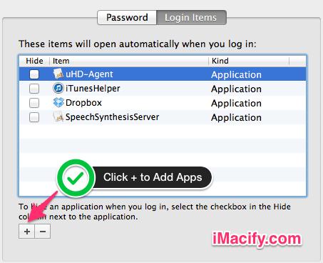 App Add Button