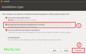 ubuntu encryotion FDD