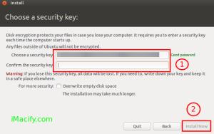 ubuntu encryotion FDD pass