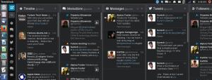 TweetDeck running in Ubuntu