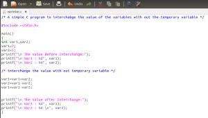 C programming in Ubuntu