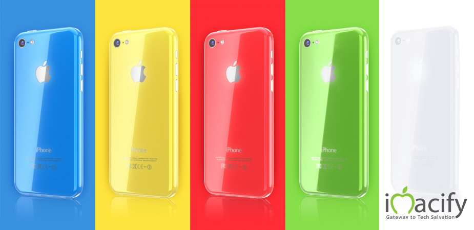 iPhone 5c imacify