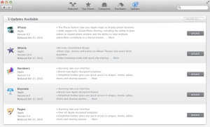 iWork and iLife Updates