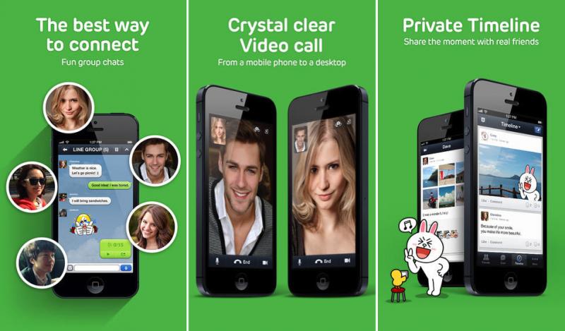 Line Voice Calling App