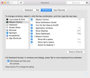 keyboard mac tweak shortcut configuration