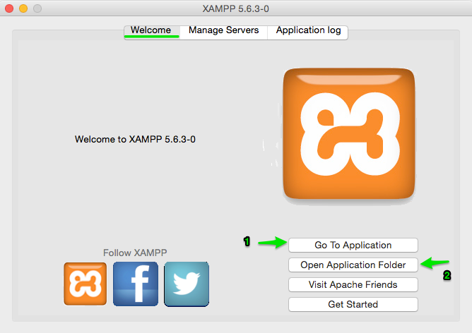 How To Install XAMPP In MAC OSX And Configure Virtual Host
