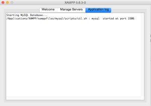 XAMPP virtual host configuration