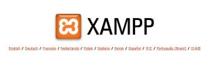 xampp index page